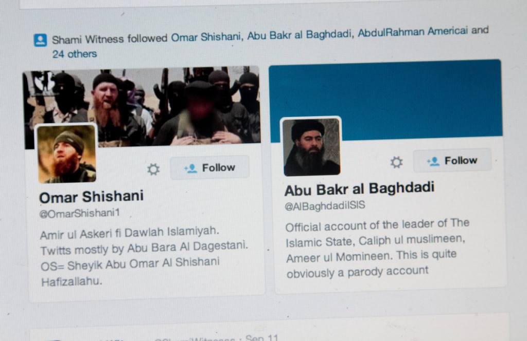 FBI: Retweeting terrorist organizations could get you arrested